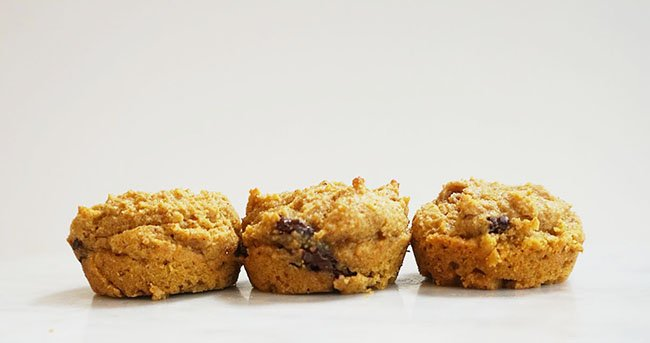 Gluten-Free Pumpkin Chocolate Chip Mini Muffins