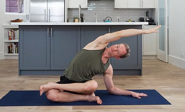 Ankle-to-Knee with Sidebend - Padmasana Yoga Pose Sequence