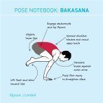 Yoga Pose Notebook: Lean In to Bakasana