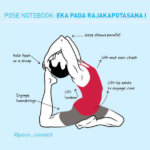 Support Yourself in Eka Pada Rajakapotasana I