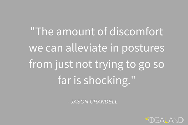 Jason Crandell quote on yoga injuries | Yoga Podcast | Yogaland Podcast