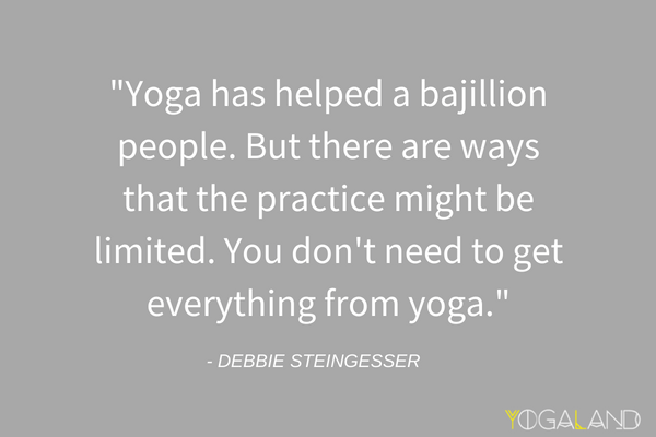 Yoga Crosstraining | Yoga Podcast with Debbie Steingesser | Yogaland Podcast