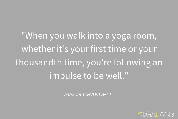 Teaching yoga to beginners | yoga quotes | Jason Crandell | Yogaland Podcast