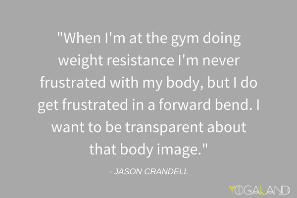 yoga for men | Jason Crandell quote | yoga podcast
