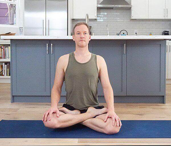 padmasana yoga lotus pose | Jason Crandell Vinyasa Yoga Method