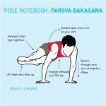 Yoga Pose Notebook: Parsva Bakasana