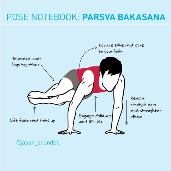 Side Crow Pose | Parsva Bakasana | Jason Crandell Vinyasa Yoga Method