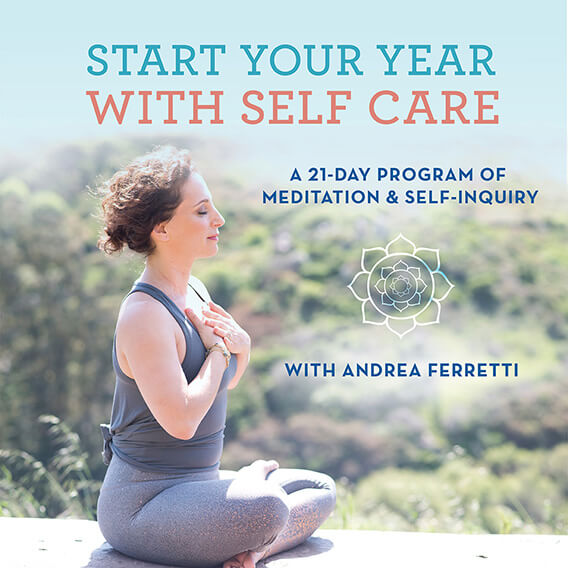 Start Your Year with Self Care with Andrea Ferretti