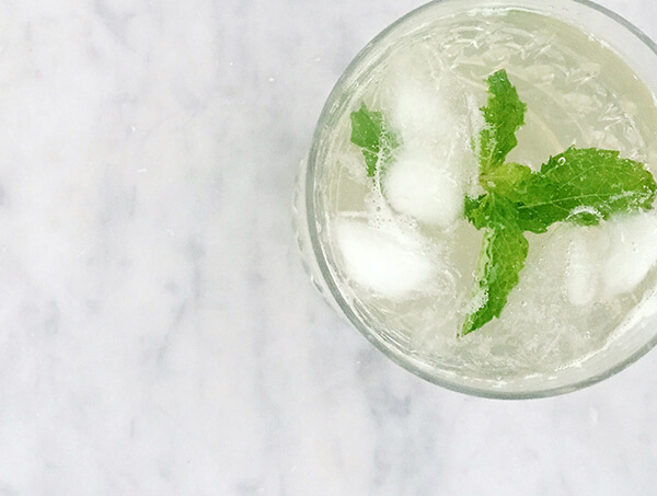 Minty Green Tea Cooler