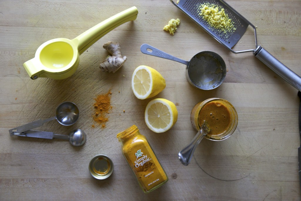 Turmeric Toddy Ingredients