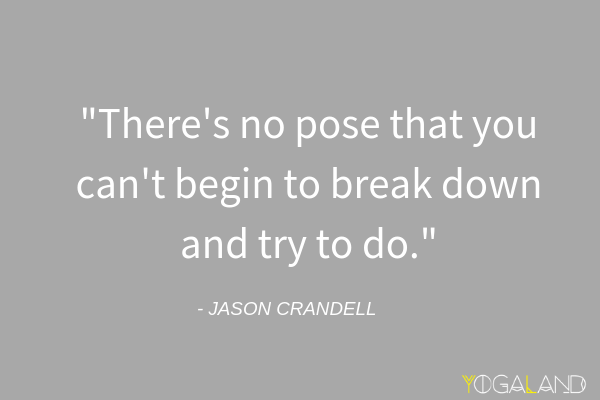Challenging Pose Yoga Inspiration | Jason Crandell Quote | Jason Crandell Yoga Method | Yoga Podcast