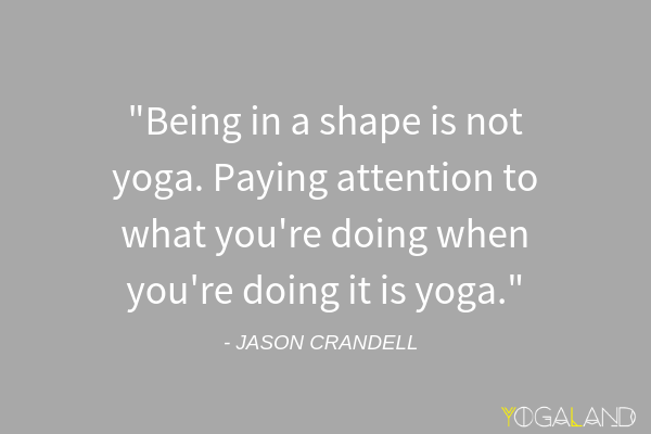 teaching beginners yoga Jason Crandell yoga quote | yoga podcast