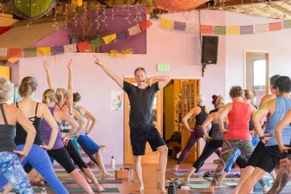 Jason Crandell teaching yoga | How to Survive Teaching a Bad Yoga Class | Jason Crandell Yoga Method