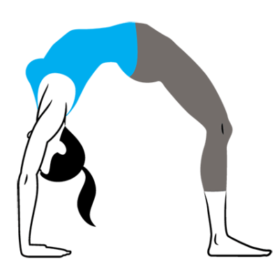 Backbends: When and Why to Engage your Glutes